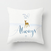 """Harry Potter """"Always"""" Throw Pillow by Earthlightened"""