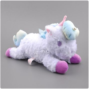 25cm Unicorn Plush Toy Cute Animal Plush pillows Kids Baby Toys Smooth Obedient Sleeping Rabbit Doll