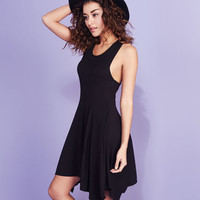Give Me A Twirl Tank Dress | Wet Seal