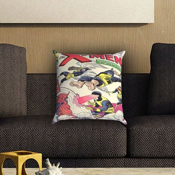 X-Men Comic Cover Pillow Cover , Custom Zippered Pillow Case One Side Two SIde