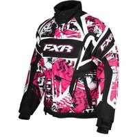 FXR 2013 Velocity Womens Storm Jacket Fuchsia | FXR Womens Snowmobile Jackets at Bob's Cycle Supply | Bob's Cycle Supply
