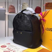 LV Louis Vuitton Women Leather Backpack 2019 New Fashion