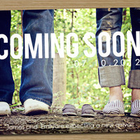 Pregnancy announcement Printable Coming Soon by CardsEtcetera
