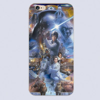 Luxury brand STAR WARS COLLAGE LUKE SKYWALKER Design phone cover cases for iphone 4 5 5c 5s 6 6s plus