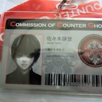 Tokyo Ghoul:re Commission Of Counter Ghoul Haise Sasaki CCG ID Pass Case Cospaly