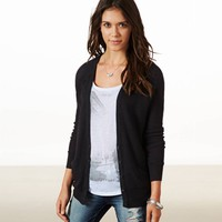 AEO Women's Mesh Knit Cardigan