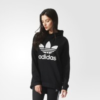 adidas Over the Head Basketball Hoodie - Black | adidas US
