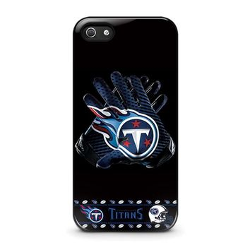tennessee titans football iphone 5 5s se case cover  number 1
