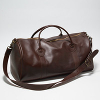 Signature Leather Duffle: Bags | Free Shipping at L.L.Bean