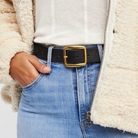 Downtown Leather Belt