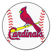 St. Louis Cardinals MLB Baseball Round Floor Mat (29)
