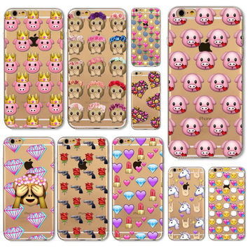 Fun Emoji Cases for iPhone 6 6s 6Plus 6s Plus