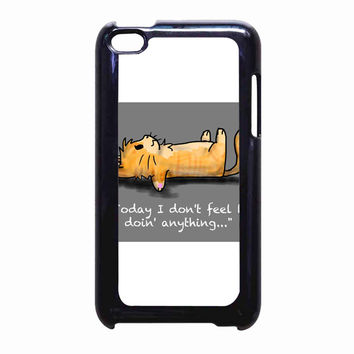 pusheen the cat2 FOR IPOD TOUCH 4 CASE *PS*