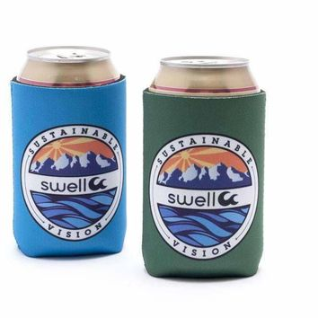 sustainable vision koozie