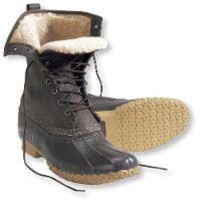 "Women's Bean Boots by L.L.Bean, 10"" Shearling-Lined: Winter Boots 