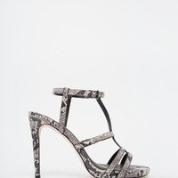 ASOS HALSTEAD Caged Heeled Sandals