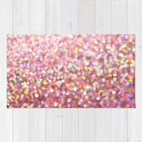 Pinkalicious Area & Throw Rug by Lisa Argyropoulos