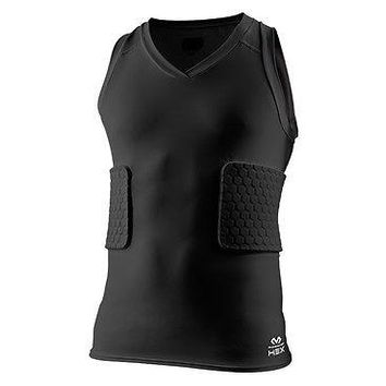 McDavid 7963 Compression Hex Tank Shirt/3-Pad Basketball/Football All Sport