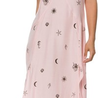 ELEMENT ALEXIS PRINTED MAXI DRESS