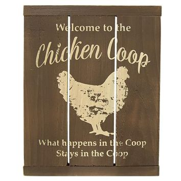 Chicken Coop Slat Sign - *FREE SHIPPING*