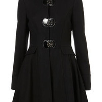 Hooded Clasp Coat - Trenches & Macs - Coats  - Apparel