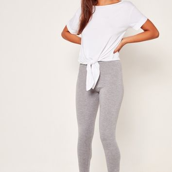 Missguided - Legging Pj Set Grey