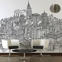 New York Chrysler Wall Sticker