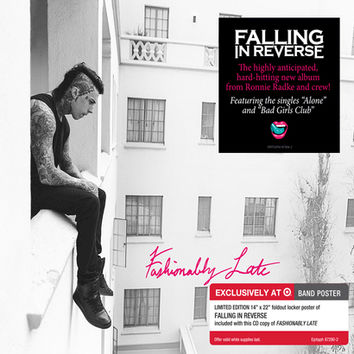 Falling In Reverse - Fashionably Late - Only at Target