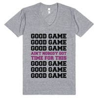 Good Game But Not Really-Unisex Athletic Grey T-Shirt
