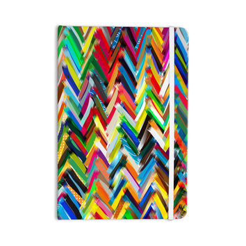 "Frederic Levy-Hadida ""Chevrons"" Rainbow Everything Notebook"