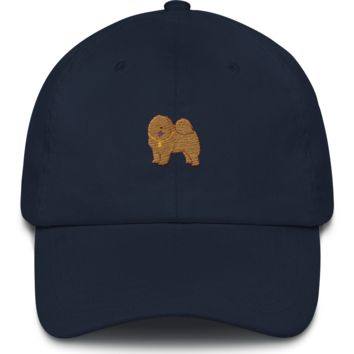 Chow Chow Baseball Cap For Men | Funny Dog Lover Dad Hat | The Jazzy Panda