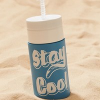 Stay Cool Retro Water Bottle | Urban Outfitters
