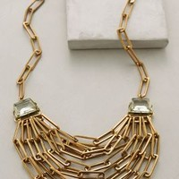 Saraca Necklace by Anthropologie Gold One Size Necklaces