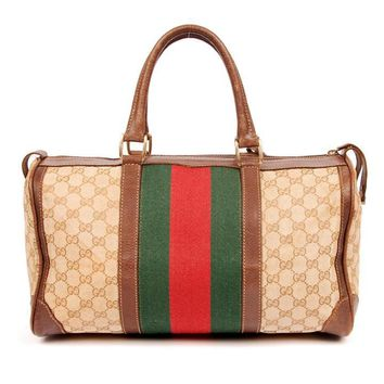 Gucci Vintage Boston Speedy 5228 (Authentic Pre-owned)