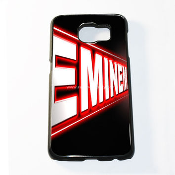 Eminem Logo Desktop Samsung Galaxy S6 and S6 Edge Case