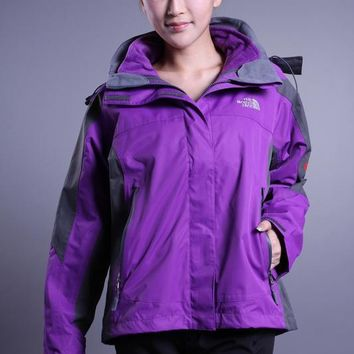 The North Face The latest womens three-in-one Purple