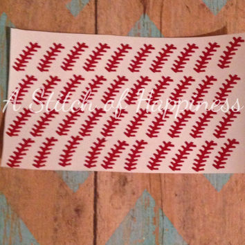 Baseball Nail Decals, Baseball Nail Art , Vinyl Nail Stickers, Baseball Nail Stickers, Baseball Decals, Baseball Nail Decal