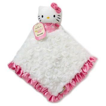 Hallmark Itty Bittys Baby Lovey Hello Kitty Plush New with Tags