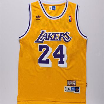 Kobe Bryant Los Angeles Lakers Nba Jersey Men 2XL Hwc Nwt New #24 Adidas Rare