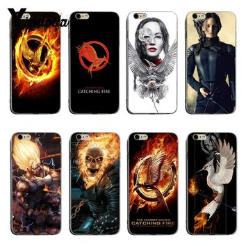 Yinuoda The Hunger Games movie Logo High Quality Classic Phone Accessories Case For iPhone XSMax X XS XR 7 7Plus 8 8plus 6 6plus