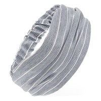 Woven Pinstriped Headwrap
