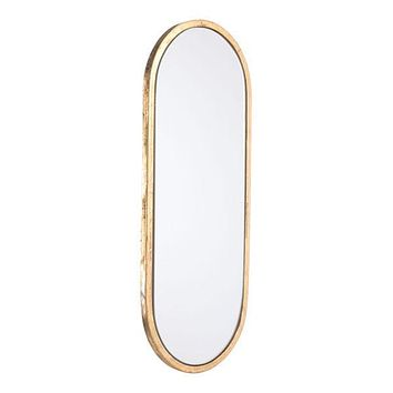 A10778 Oval Gold Mirror