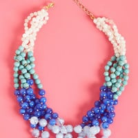 Boldly Go Beaded Necklace