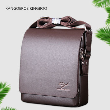 2017 new fashion design leather men Shoulder bags, men's casual business messenger bag,vintage crossbody ipad Laptop briefcase