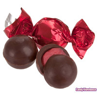 Red Raspberry Chocolate Truffles: 2LB Bag | CandyWarehouse.com Online Candy Store