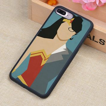 Wonder Woman Minimalist Poster Soft Rubber Mobile Phone Cases Accessories For iPhone 6 6S Plus 7 7 Plus 5 5S 5C SE 4 4S Cover