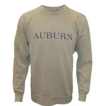 Seaside Auburn Sweatshirt Sandstone  Auburn University Apparel