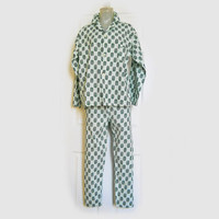 Men's Pajamas - Vintage Late 1950s Cotton PJ's for Men