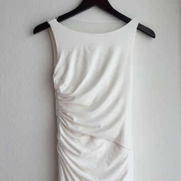 Beautiful White Long Dress (White House Black Market)