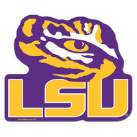 LSU Tigers NCAA Automotive Grille Logo on the GOGO